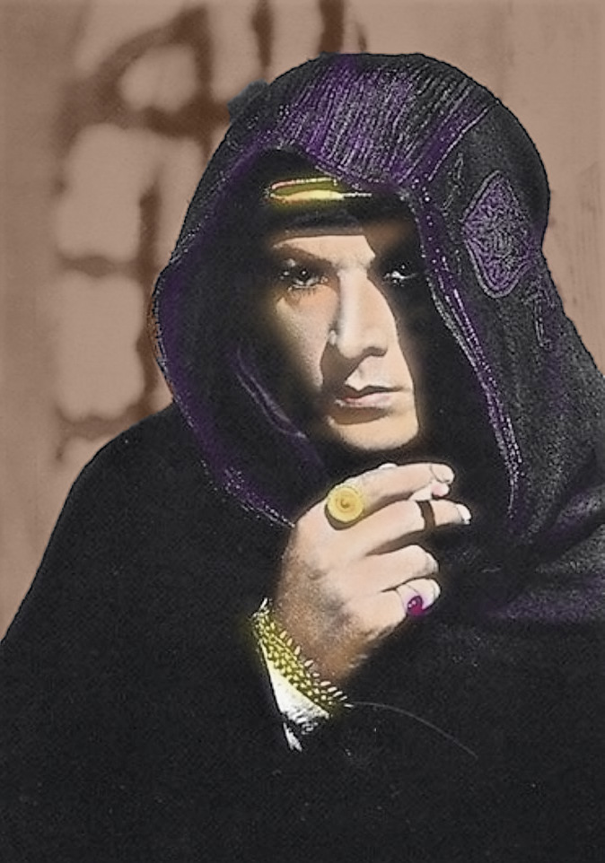 Valentino as the Son of the Sheik