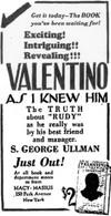 Valentino As I Knew Him