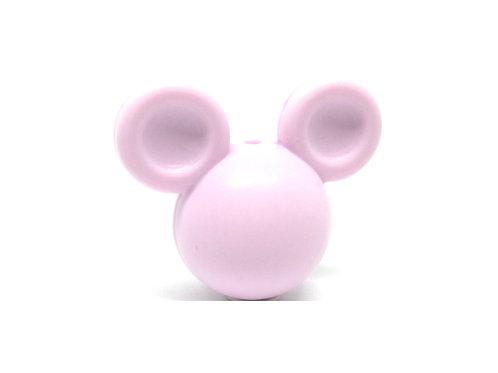 Perle Grand Mickey 3D Silicone Mauve