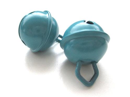 Grelot en acier inoxydable Bleu Canard