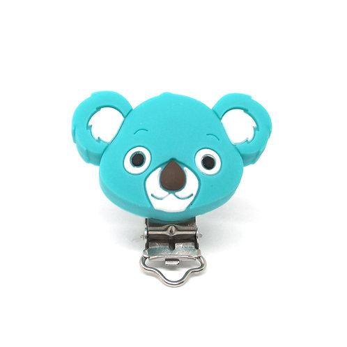 Clip Koala Silicone Turquoise