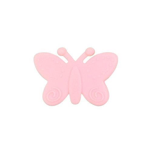 Perle Papillon Silicone Rose Quartz
