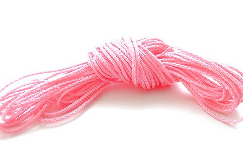 fil pour attache tetine rose
