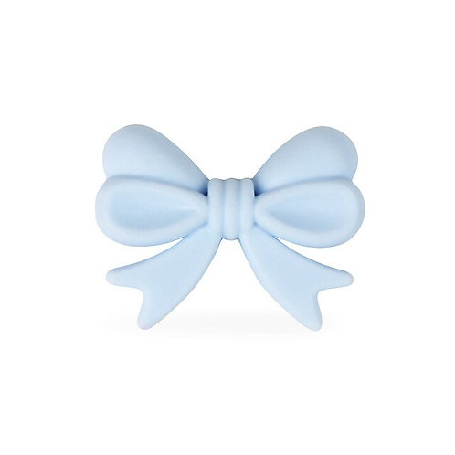 Perle Noeud Silicone Bleu Tendre