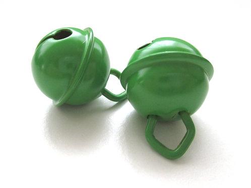 Grelot en acier inoxydable Vert