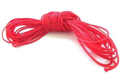 fil pour attache tetine rouge