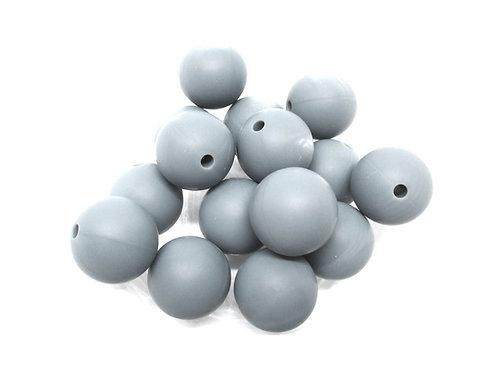 perle silicone bebe gris