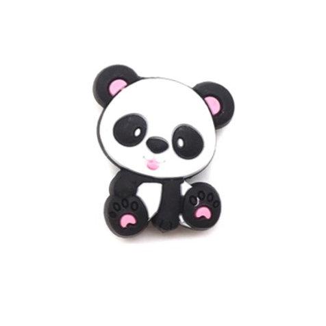 Perle Panda Silicone Rose