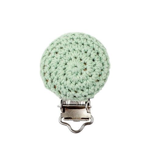Clip Crochet et Bois Vert Tendre