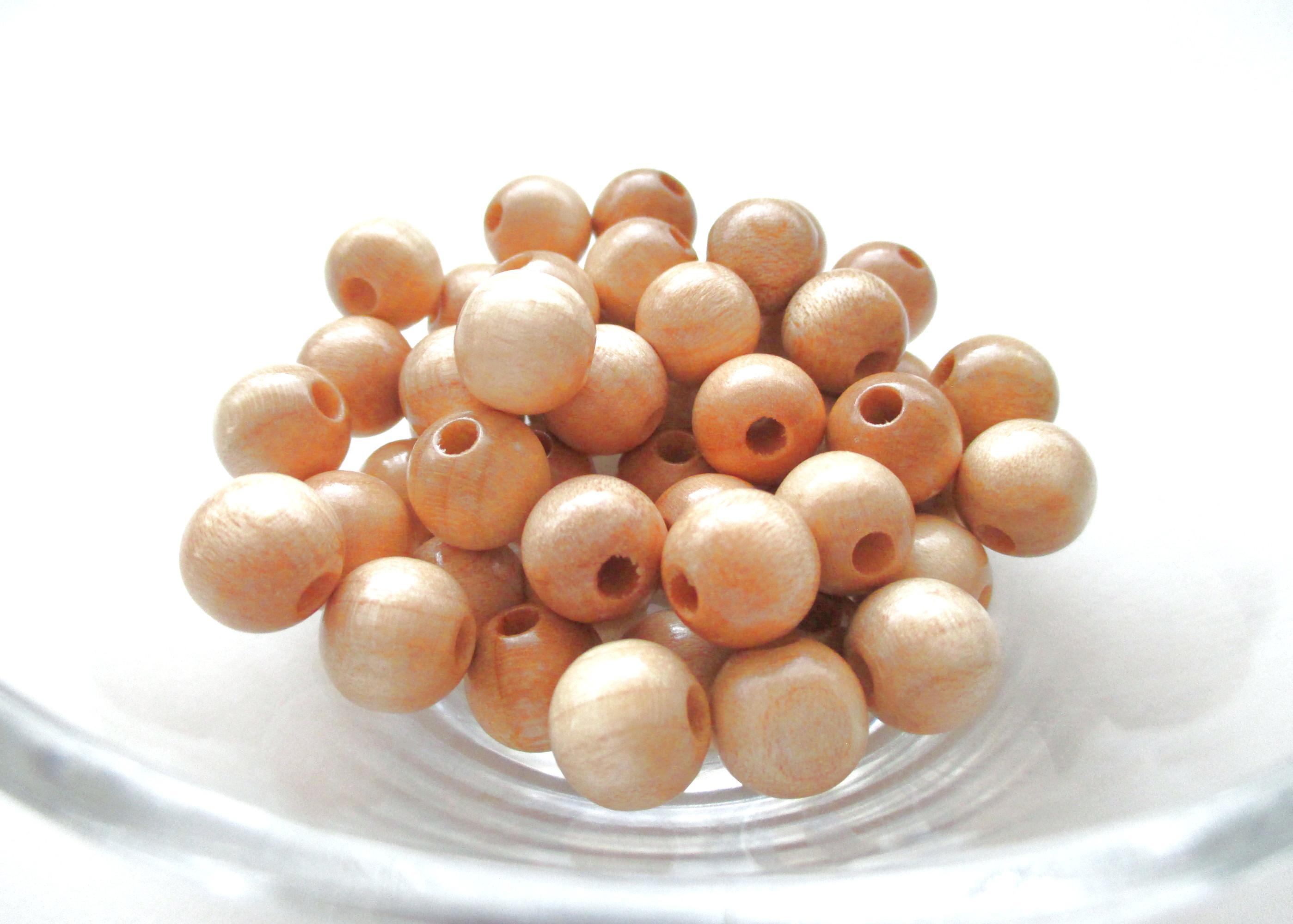 Perles pour attache tetine naturel joale