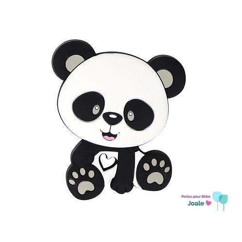 Panda Silicone Spécial Dentition Blanc/Gris