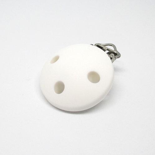 Clip Silicone Blanc