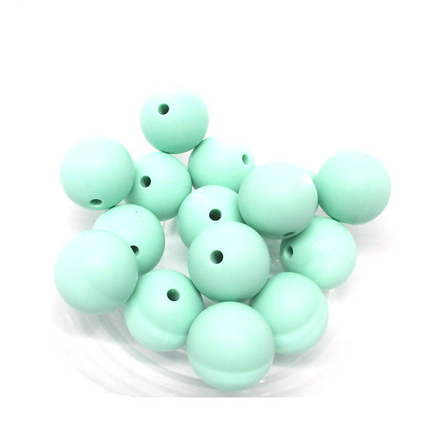 perle silicone bebe menthe