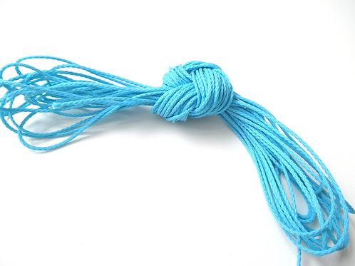 5 mètres Fil Polyester pour Attache Tétine Turquoise