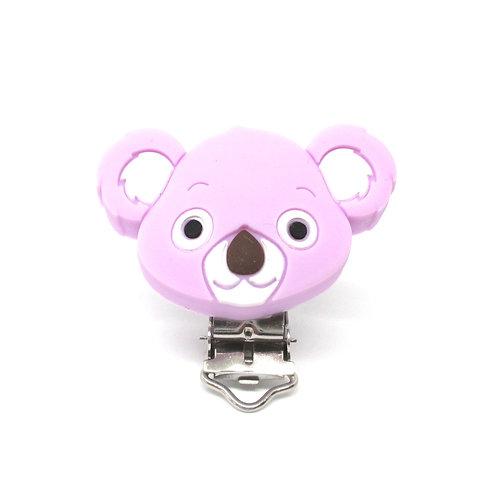 Clip Koala Silicone Mauve