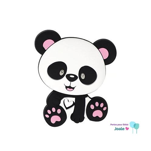 Panda Silicone Spécial Dentition Blanc/Rose