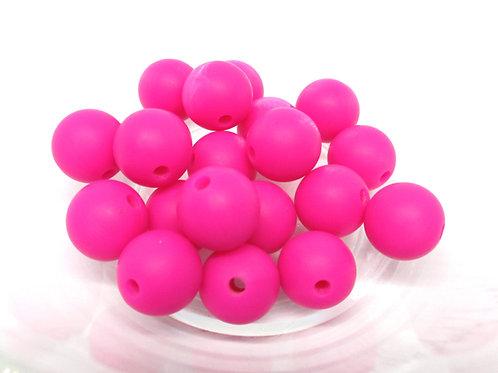perle silicone bebe fuchsia