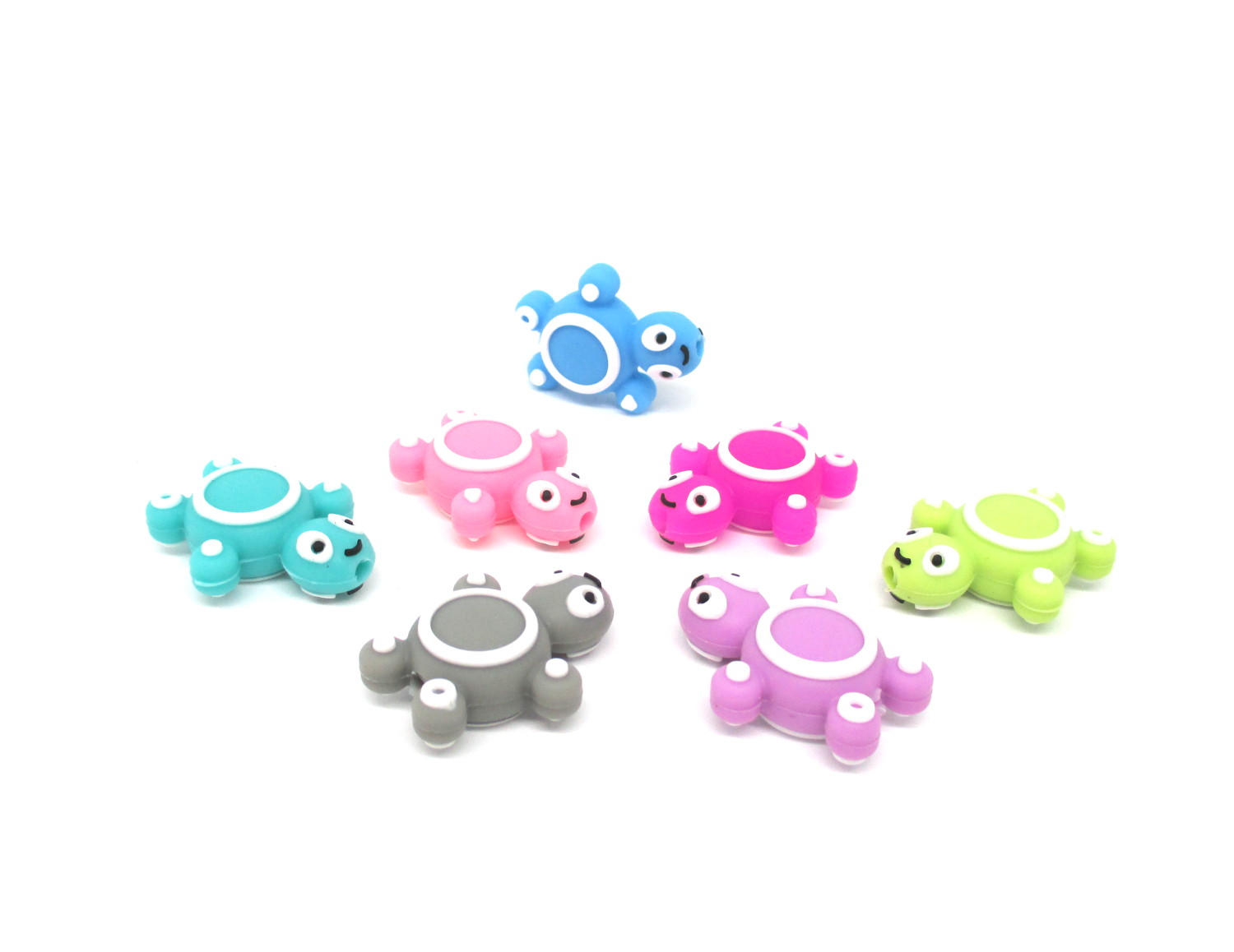 Perle Tortue Silicone pour bebe