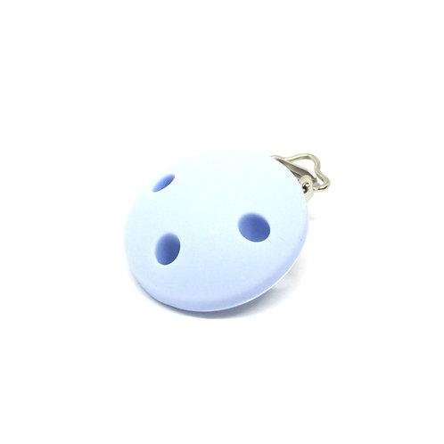 Clip Silicone Bleu Tendre