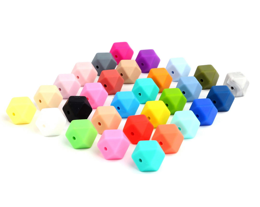 perle silicone hexagonale