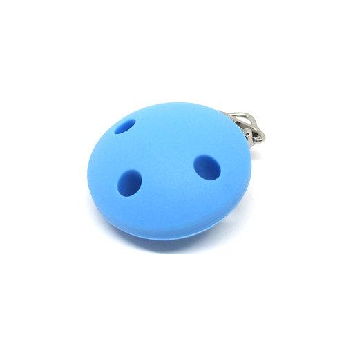 Clip Silicone Bleu Royal