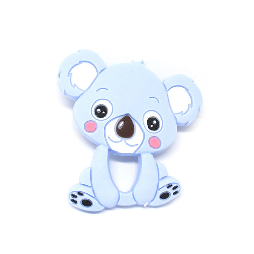 Koala Silicone Spécial Dentition Bleu Tendre