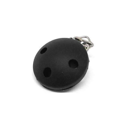 Clip Silicone Noir