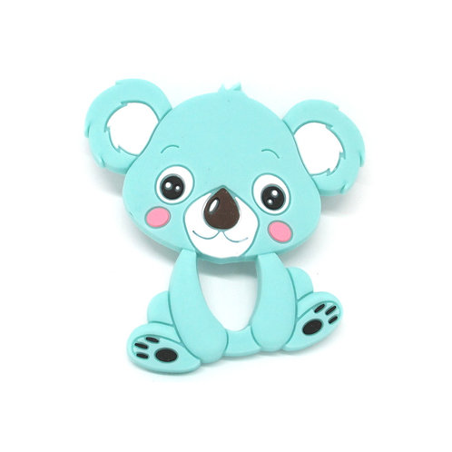 Koala Silicone Spécial Dentition Turquoise Clair