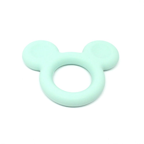 Mickey Silicone Spécial Dentition Mint