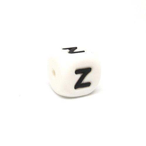Perle Alphabet Silicone - Lettre Z