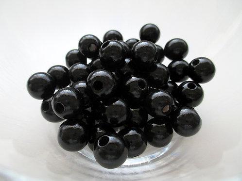 perle bois bebe noir