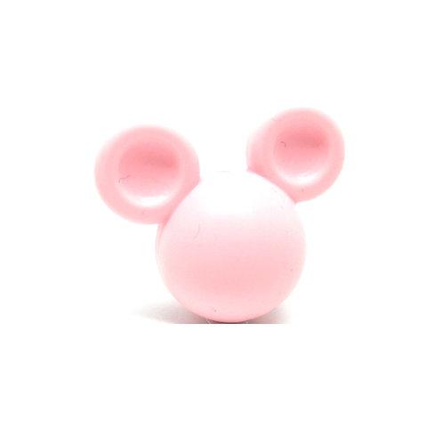 Perle Grand Mickey 3D Silicone Rose Quartz