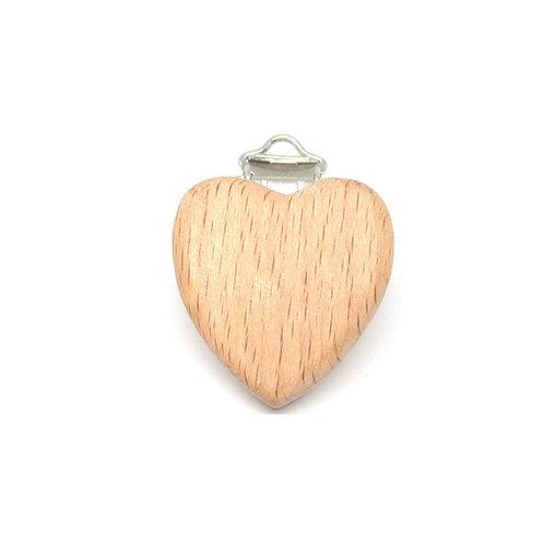 clip bois coeur