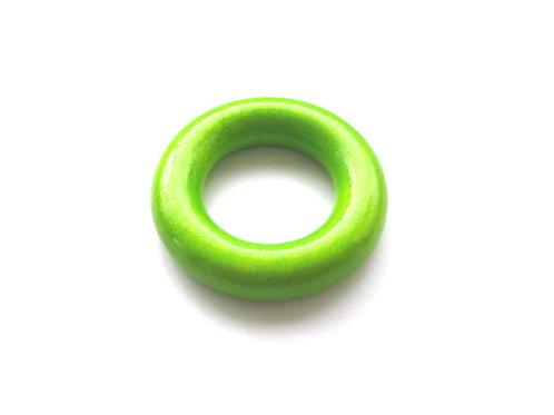 Anneau en Bois 35mm Vert Pomme