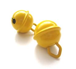 Grelot pour doudou jouet jaune