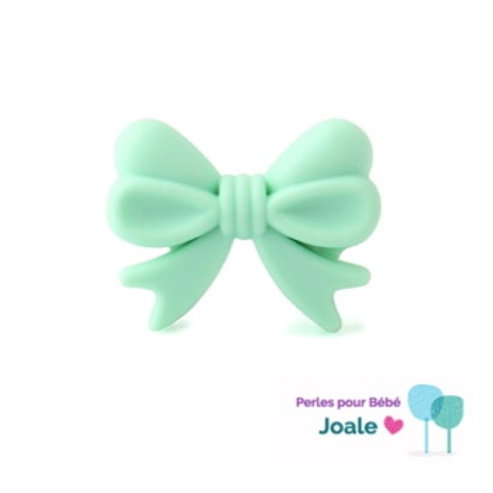 Perle Noeud Silicone Mint