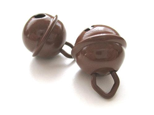 Grelot en acier inoxydable Chocolat