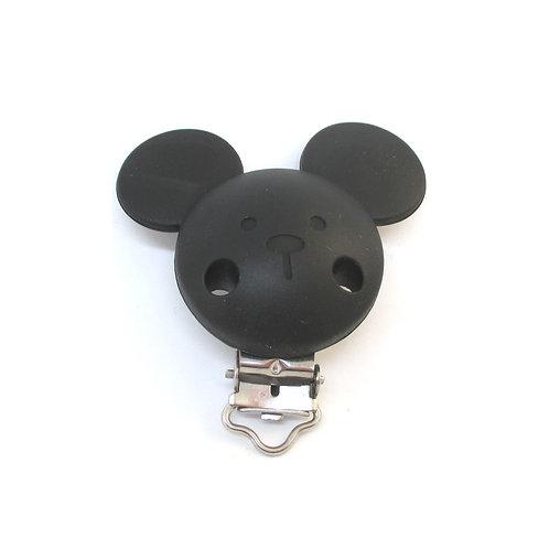 Clip Mickey Silicone Noir