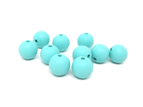 perle silicone bebe turquoise
