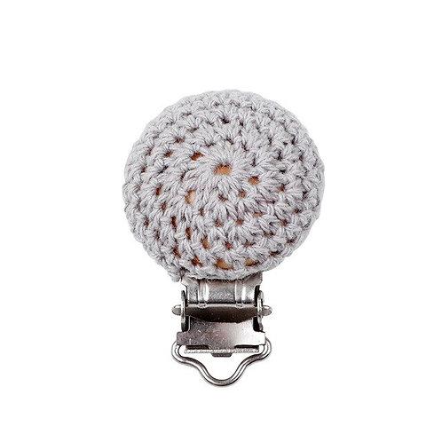 Clip Crochet et Bois Gris