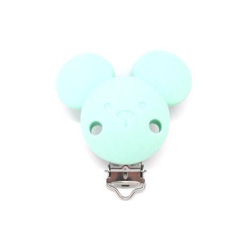 Clip Mickey Silicone Mint
