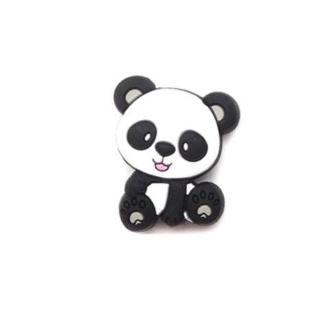 Perle Panda Silicone Gris