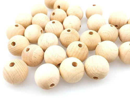 perle bois naturel