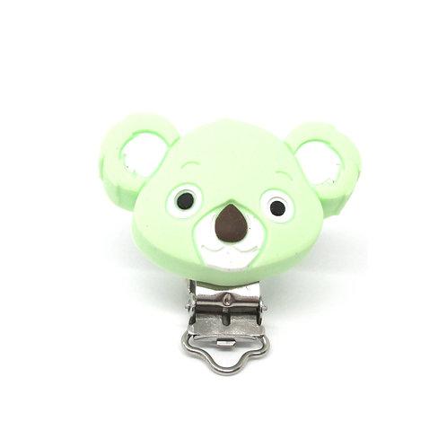 Clip Koala Silicone Vert Tendre