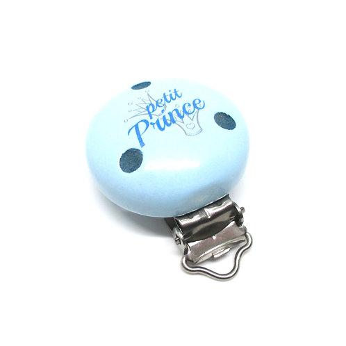 clip petit prince bleu pastel
