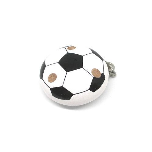 Clip en Bois Ballon de Foot