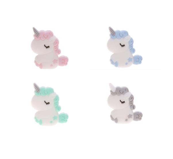 perle silicone licorne