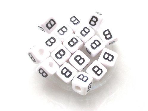 Perle Alphabet Acrylique - Lettre B