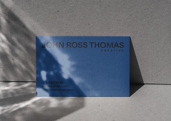 John Ross Thomas Card