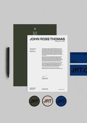 John Ross Thomas Stationary